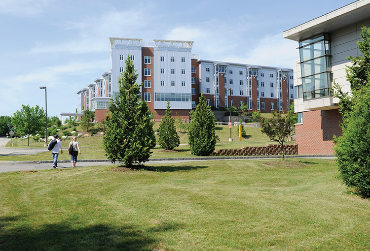 Residence halls on our Gorham campus